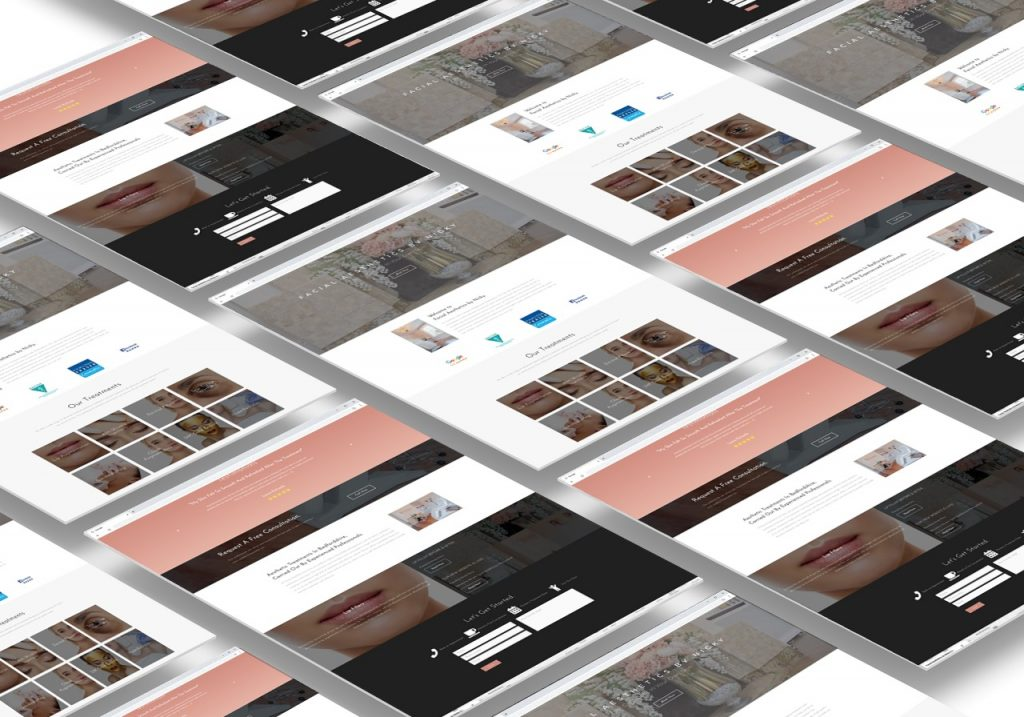 Facial Aesthetics by Nicky - Web Design Bedfordshire Project