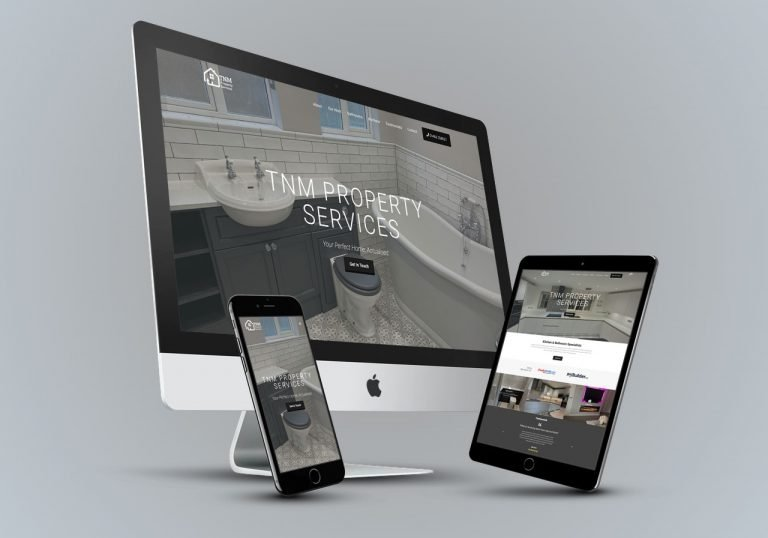 TNM Property Services - Web Design Bedford Portfolio