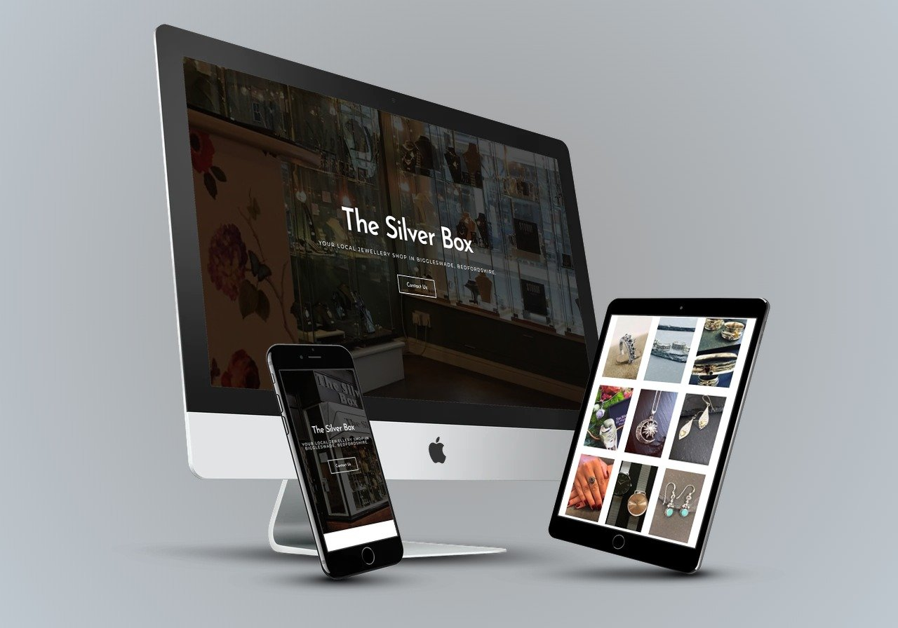The Silver Box - Web Design Bedfordshire Portfolio